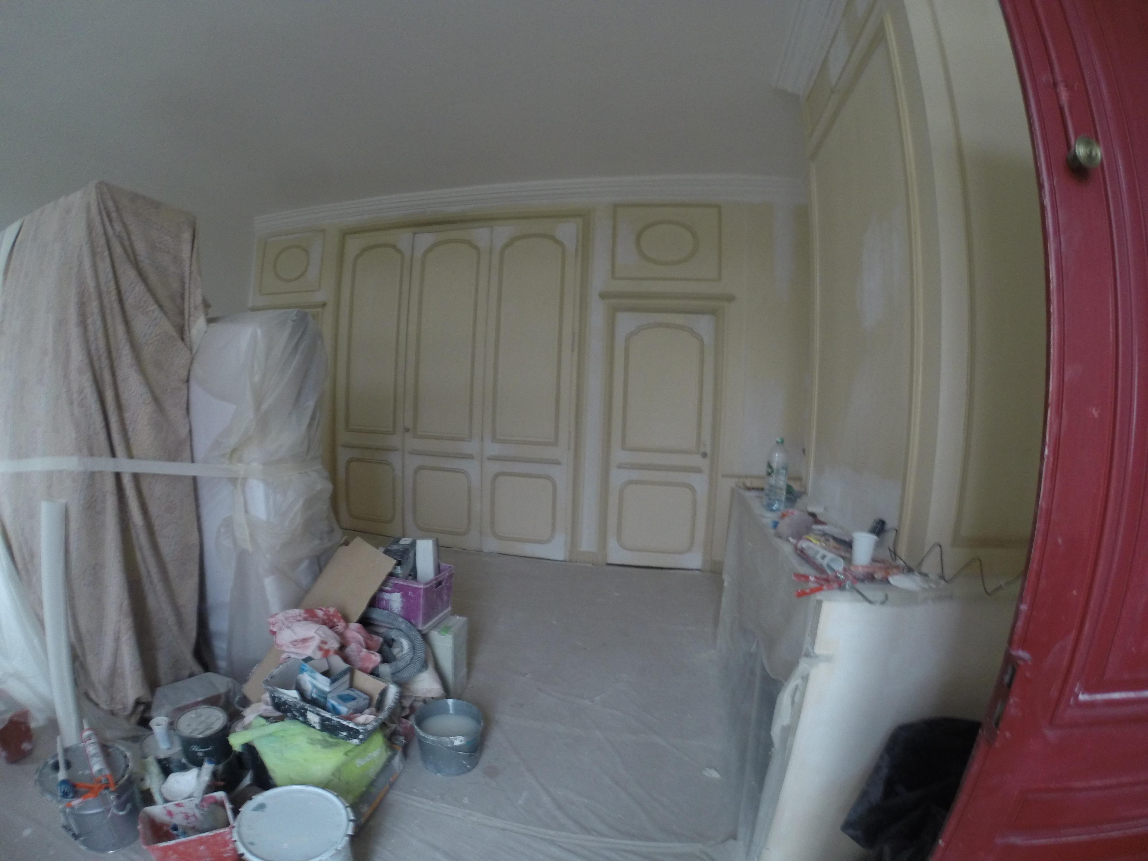 Placards et chambre complète avant travaux