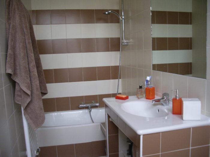 Salle de bains modernisée